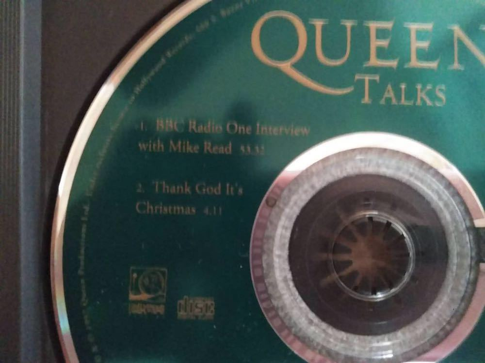 Queen talks CD 盤のみ 輸入盤_画像4