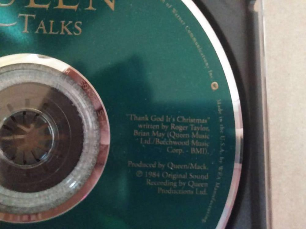 Queen talks CD 盤のみ 輸入盤_画像3