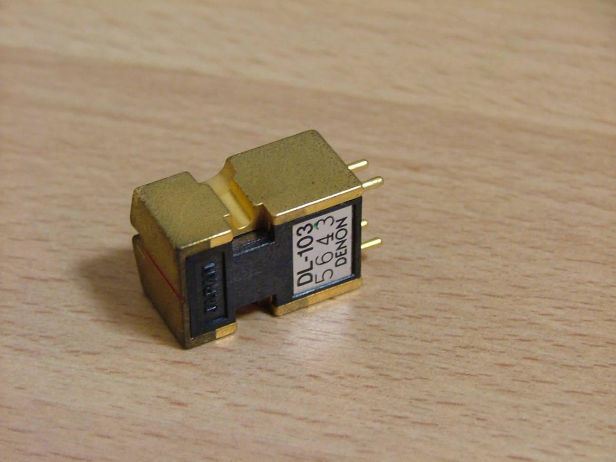 DENON**DL-103 GOLD** limitation sale goods * work properly..**Y3000-