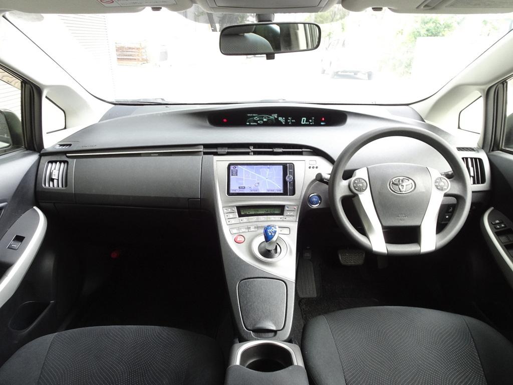 車検33年7月 24年式 プリウス Sツーリング 後期 実走 ナビ 地デジTV バックモニター DVD再生 Bluetooth スマキー LEDヘッドライト ETC_画像5