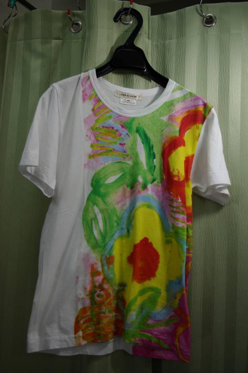 00338 送料込 コムデギャルソン 半袖 Tシャツ used
