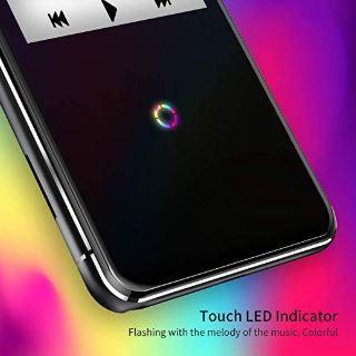 16GB Bluetooth付き MP3プレーヤー 2.4インチ スピーカー/FMラジオ/ボイスレコーダー付き ランニング用ヘッドフォンとアームバンド付き_画像6
