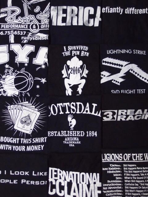 ◆古着卸USA■☆★モノトーン☆★プリントTシャツ色々24枚セット★★★L  ブラックボディ アメリカ直輸入_画像3