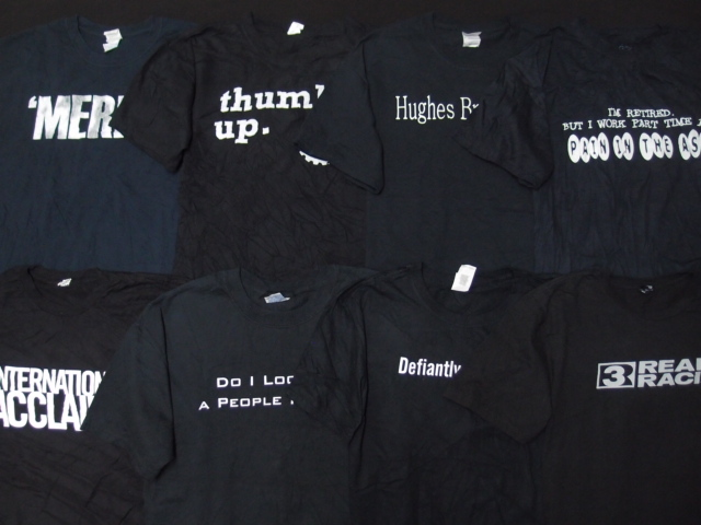 ◆古着卸USA■☆★モノトーン☆★プリントTシャツ色々24枚セット★★★L  ブラックボディ アメリカ直輸入_画像6