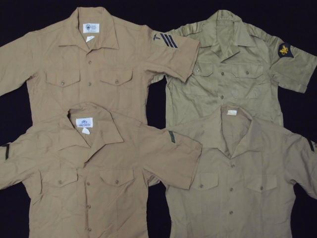 ◆古着卸USA■ミリタリーシャツ19枚セット★★★M+S  長袖/半袖MIX アメリカ直輸入 米軍_画像2