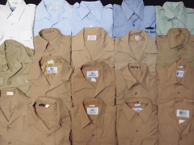◆古着卸USA■ミリタリーシャツ19枚セット★★★M+S  長袖/半袖MIX アメリカ直輸入 米軍