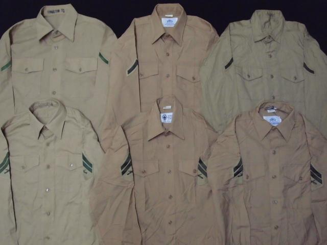 ◆古着卸USA■ミリタリーシャツ19枚セット★★★M+S  長袖/半袖MIX アメリカ直輸入 米軍_画像4