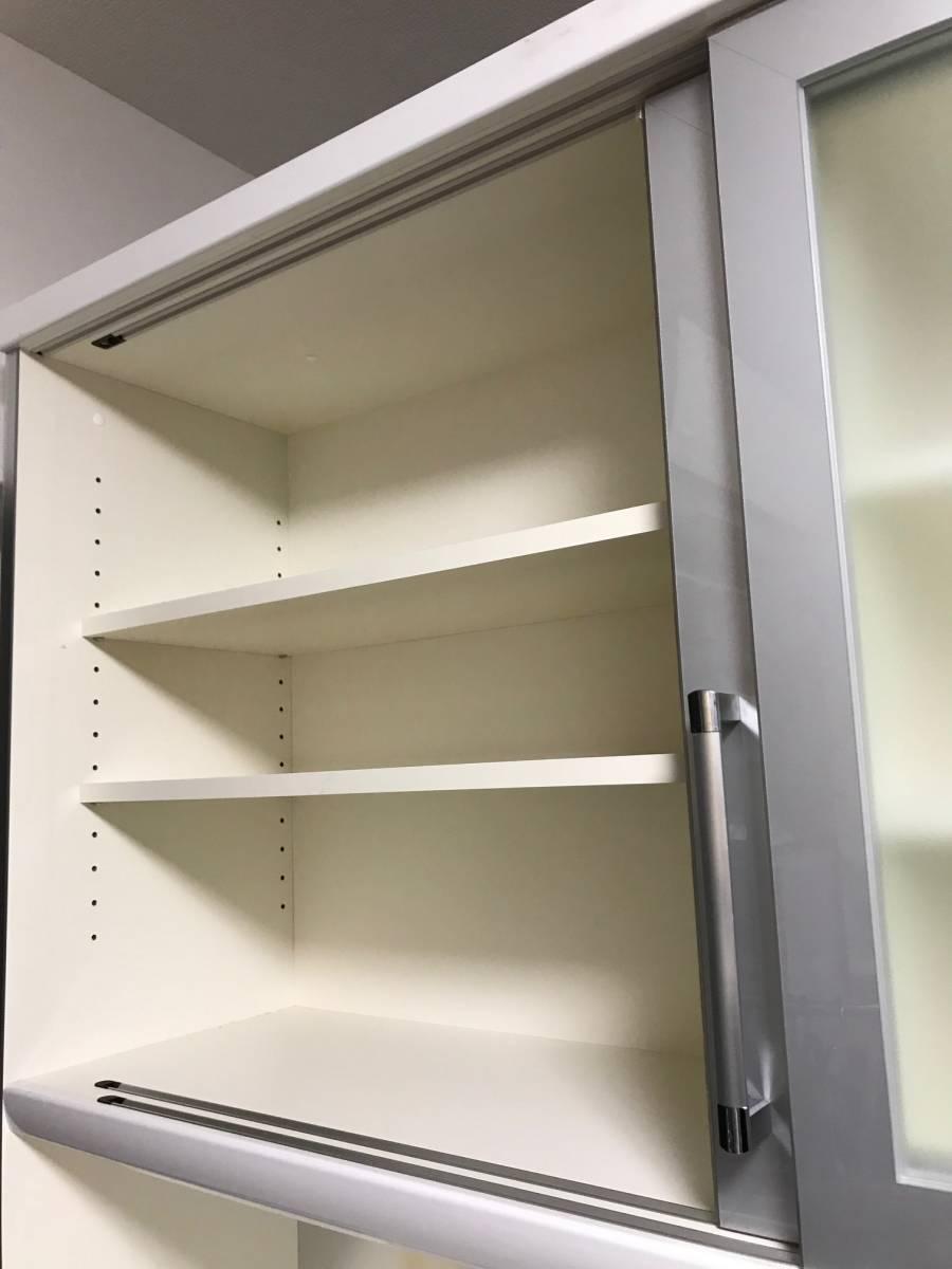 Pamouna パモウナ LU-1400R 食器棚 ☆キッチンボード☆_画像2