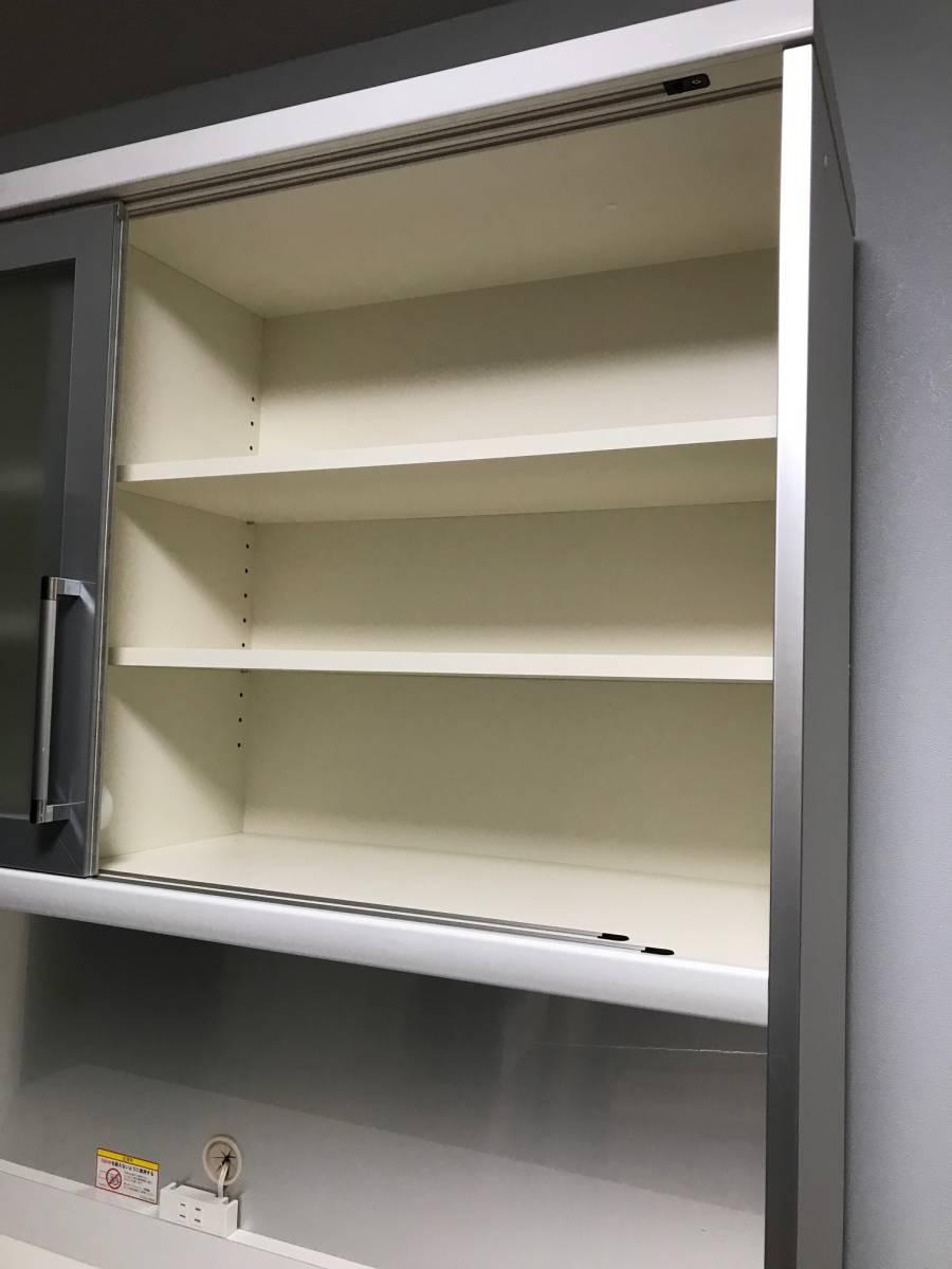 Pamouna パモウナ LU-1400R 食器棚 ☆キッチンボード☆_画像3