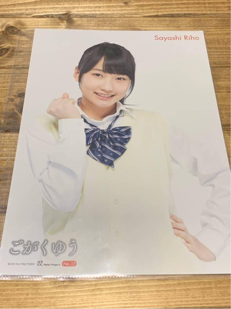 モーニング娘。鞘師里保 ピンナップポスター ごがくゆう 2013 ピンポス