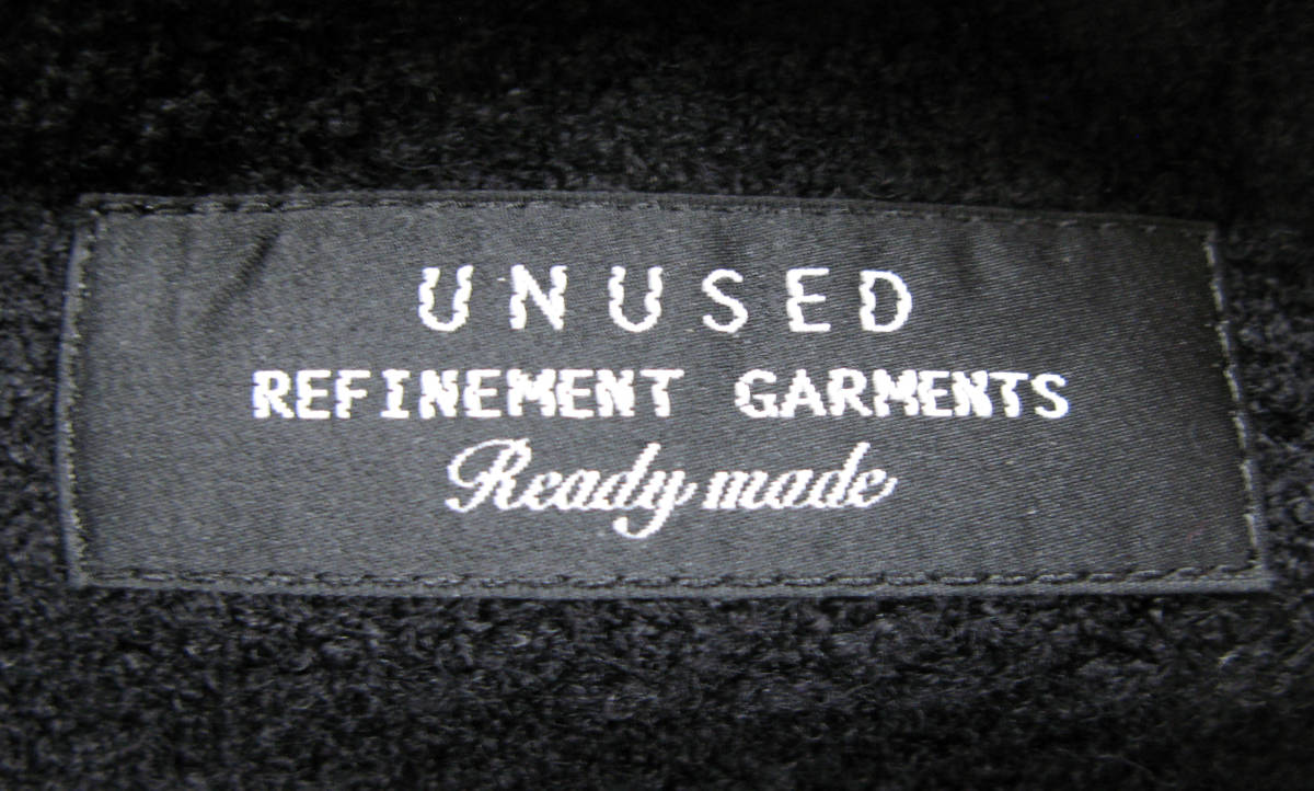 アンユーズド UNUSED×LINTON FABRIC:ノーカラー ツイード ジャケット ( リントン jacket_画像5