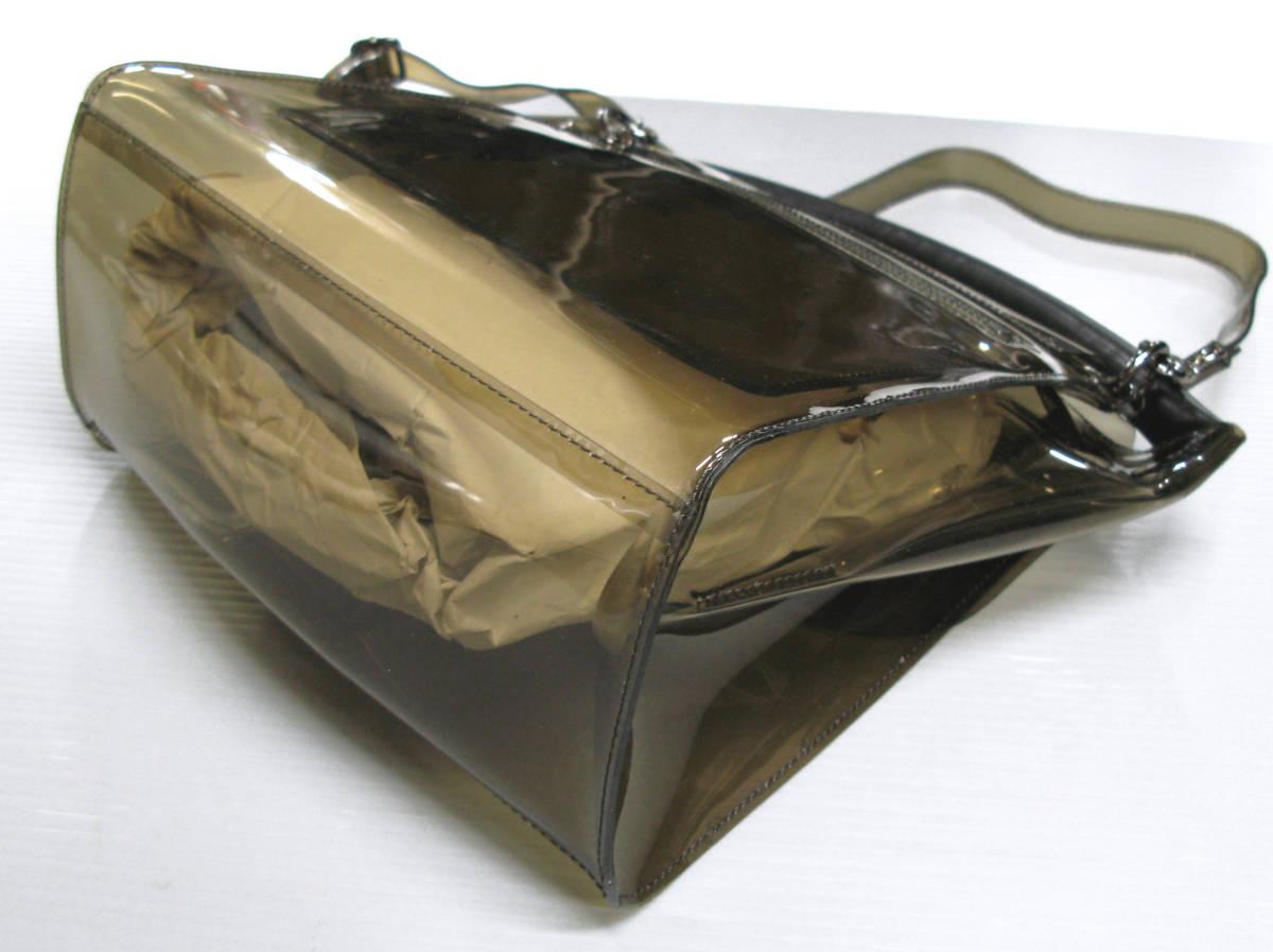 ズッカ ZUCCA*ビニール ショルダー バッグ ( 2WAYバッグ クリアバッグ キャンディバッグ バックルバッグ bag_画像3