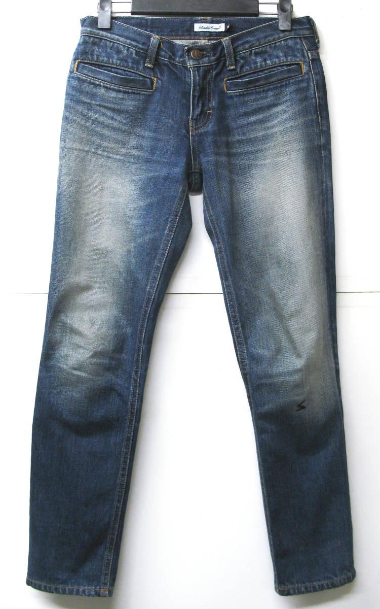 アンダーカバー UNDER COVER:レディース デニム M ( ジーンズ クラッシュデニム denim jeans_画像1