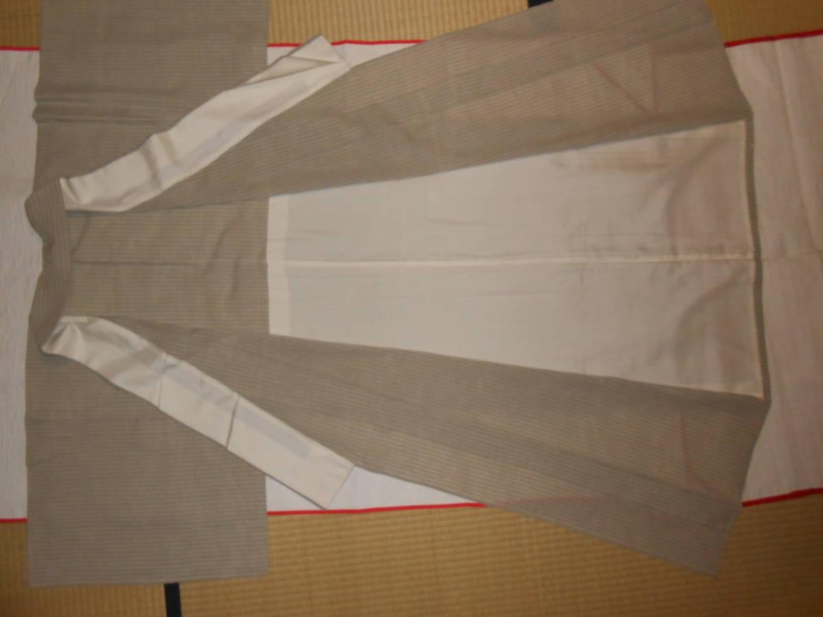 薩摩絣 綿薩摩 仕立て上がり 単衣 作家物 未着用 着丈約155cm ハギレあり_画像4