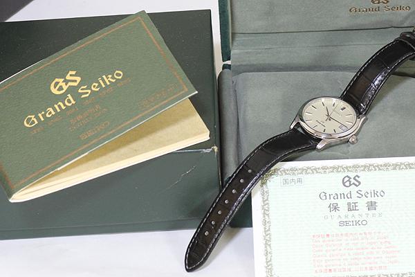 1円 極美品 GS グランドセイコー SBGV003 9F82-0A10 メンズ クォーツ 腕時計 アイボリー文字盤_画像7