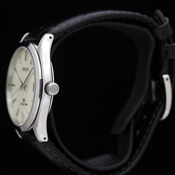 1円 極美品 GS グランドセイコー SBGV003 9F82-0A10 メンズ クォーツ 腕時計 アイボリー文字盤_画像3