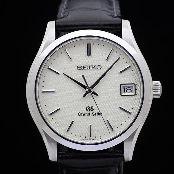 1円 極美品 GS グランドセイコー SBGV003 9F82-0A10 メンズ クォーツ 腕時計 アイボリー文字盤_画像2