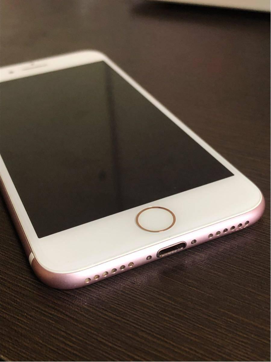 良品・ 海外版SIMフリー・Apple iPhone 7 128gb・ローズゴールド・安心・一括購入・外国でも使用可・_画像3