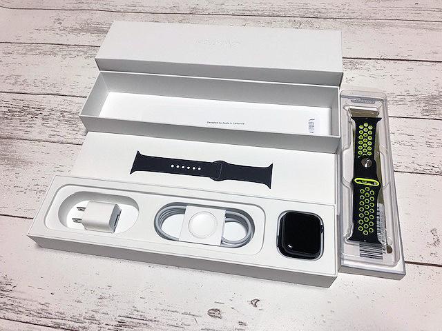 ■Apple Watch Series 4 GPSモデル 40mm スペースグレイ アルミニウムケース 新品同様