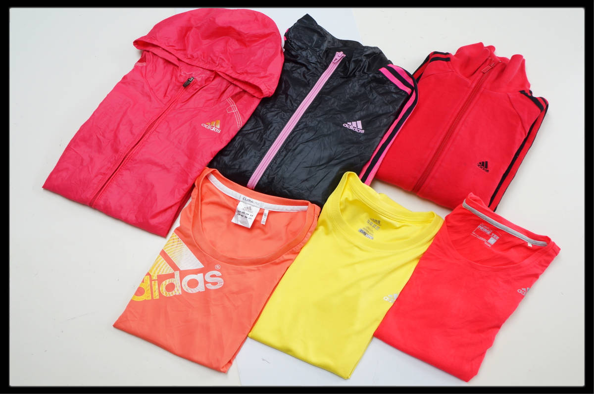 ★☆1円スタート!★☆ adidasのみ!! ☆★  レディースLサイズ 6枚セット■S3053