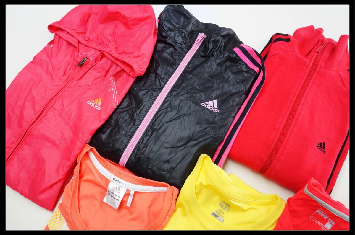 ★☆1円スタート!★☆ adidasのみ!! ☆★  レディースLサイズ 6枚セット■S3053_画像2