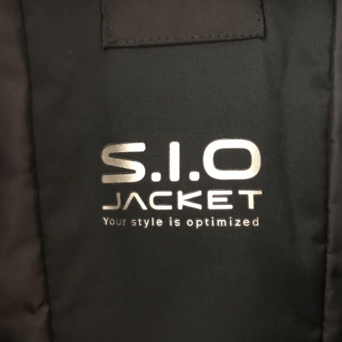 デサント S.I.O JACKET スキージャケット メンズ Sサイズ 送料込み!普段着使いとしてスキー場では未着用です!_画像3