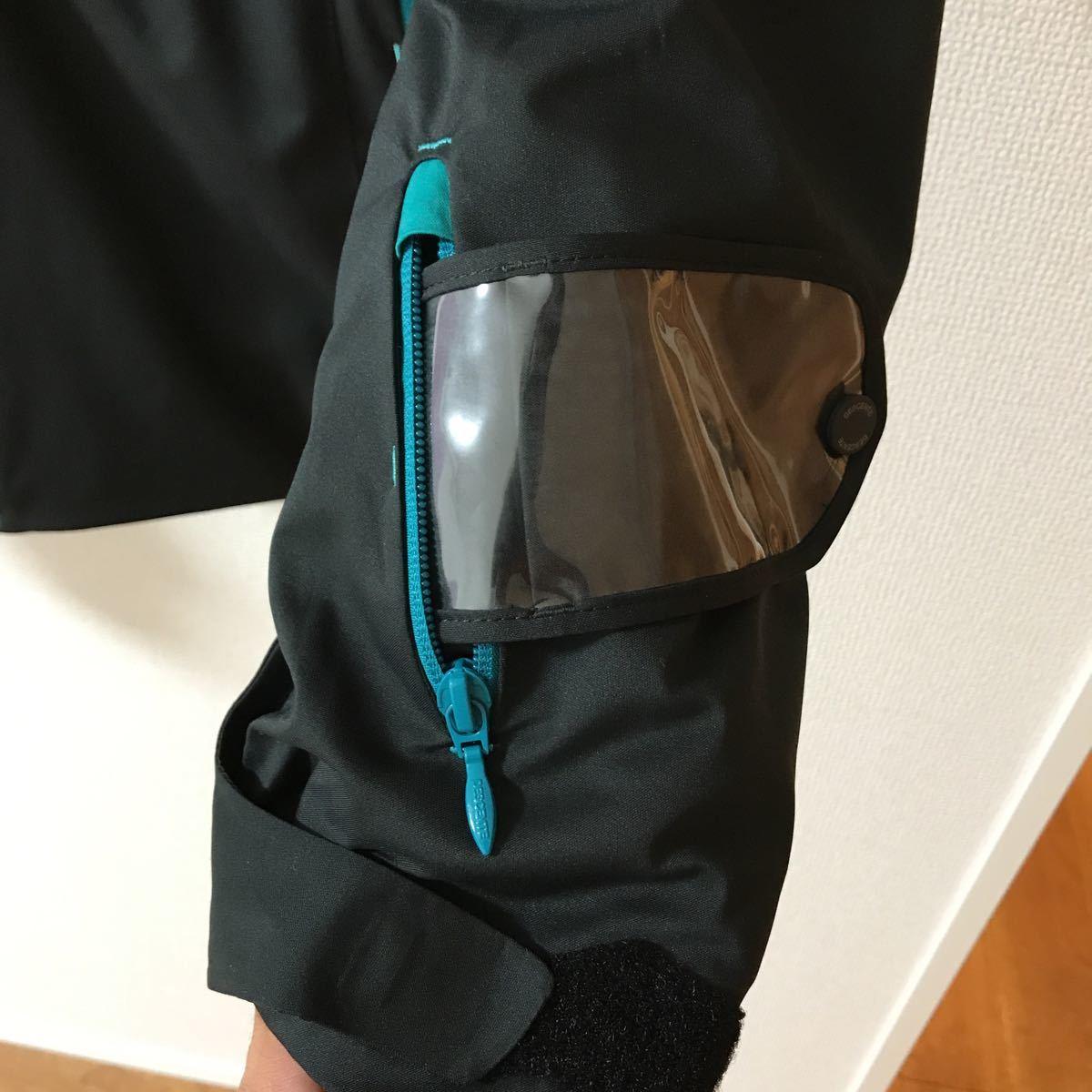 デサント S.I.O JACKET スキージャケット メンズ Sサイズ 送料込み!普段着使いとしてスキー場では未着用です!_画像9