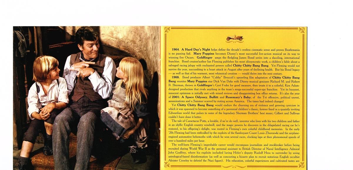 【輸入盤・サントラ】「Chitty Chitty Bang Bang チキ・チキ・バン・バン」 リチャード・M・シャーマン、ロバート・M・シャーマン_画像4