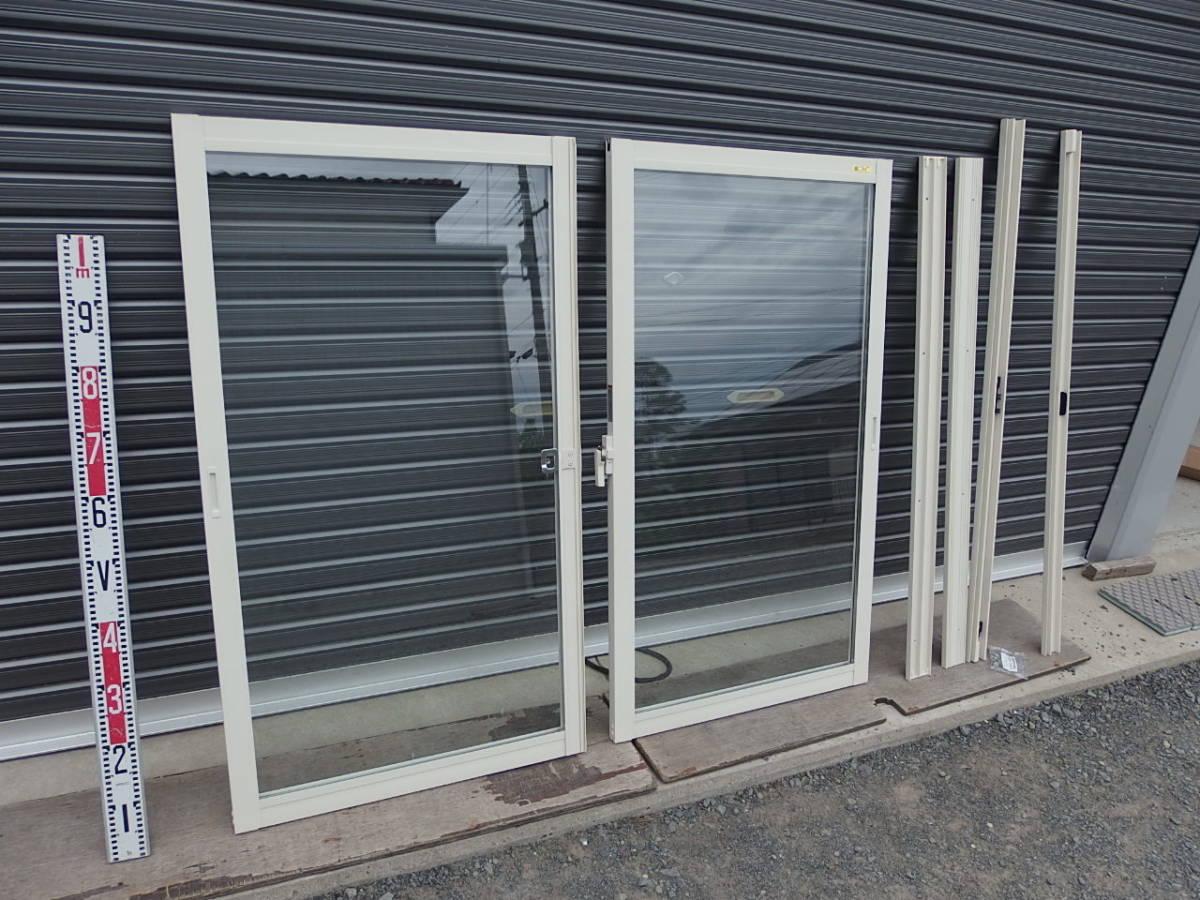 内窓 2重窓 LIXIL インプラス ペアガラス 引違い窓 ホワイト w1302×h1188 _画像1