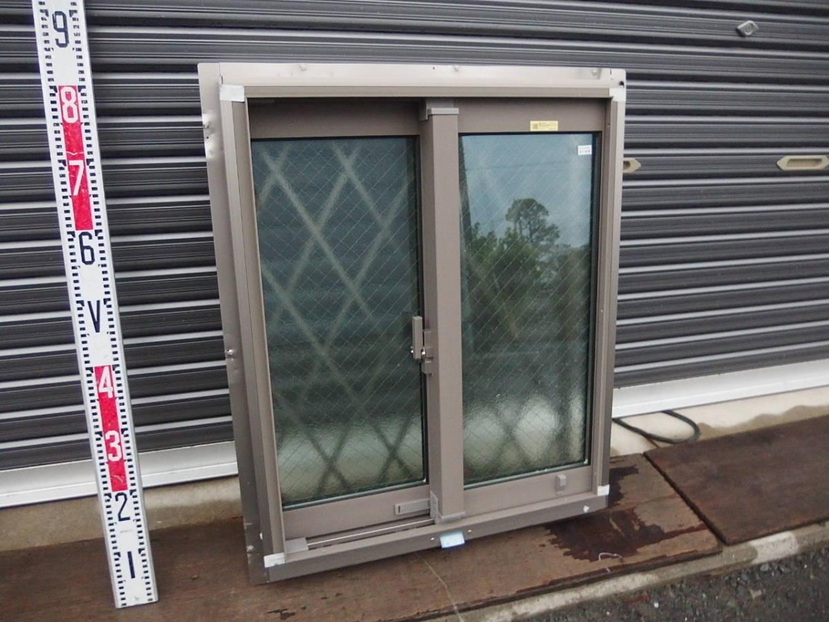在庫品 アルミサッシ LowE ペアガラス 引違い窓 05707(06007)シャイングレー ヒシクロス格子_画像2