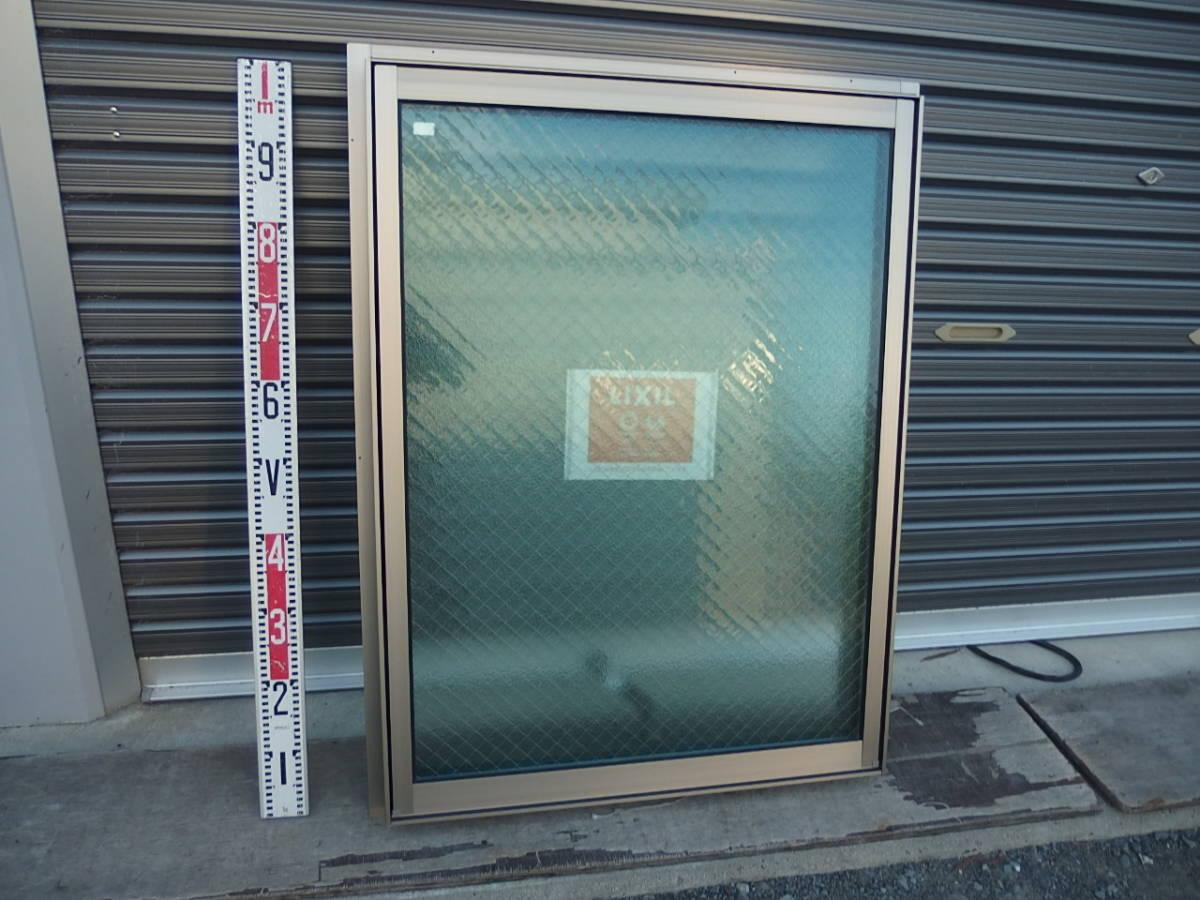 在庫品 アルミサッシ LowE ペアガラス 横すべり出し窓 オペレーター 06609 (06909) シャイングレー