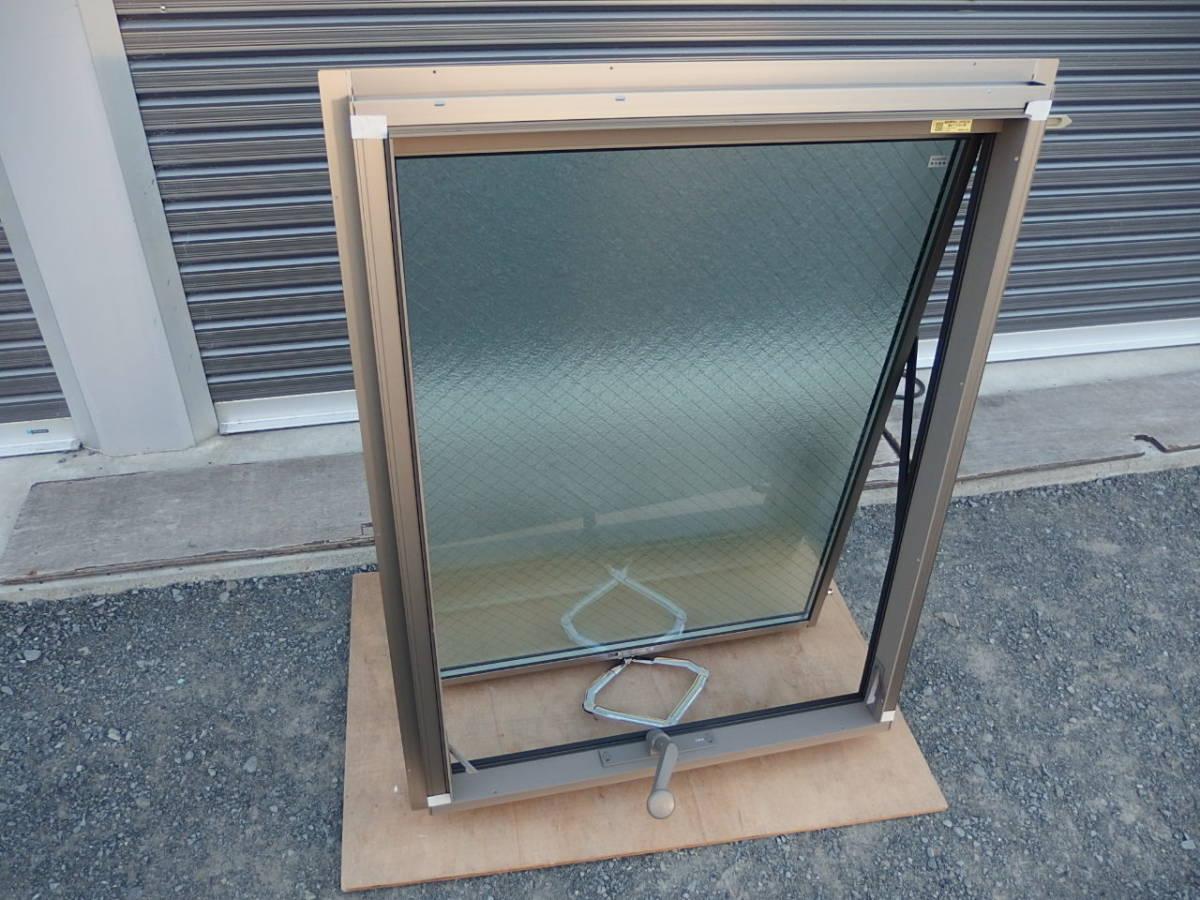 在庫品 アルミサッシ LowE ペアガラス 横すべり出し窓 オペレーター 06609 (06909) シャイングレー_画像3