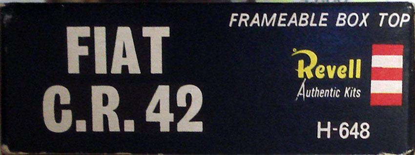 ○REVELL英レベル/ フィアット C.R.42 (1/72)H648オリジナル_画像3