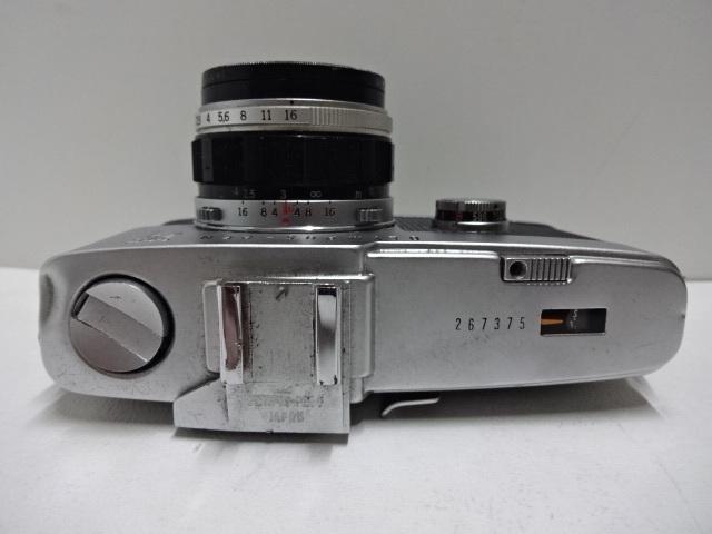 古いカメラ OLYMPUSーPEN F アンティーク ジャンク品 レトロ_画像3