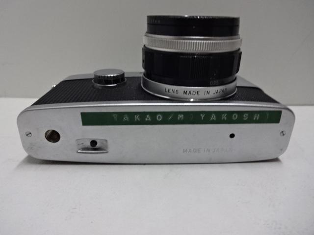 古いカメラ OLYMPUSーPEN F アンティーク ジャンク品 レトロ_画像4