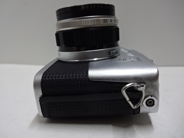 古いカメラ OLYMPUSーPEN F アンティーク ジャンク品 レトロ_画像6