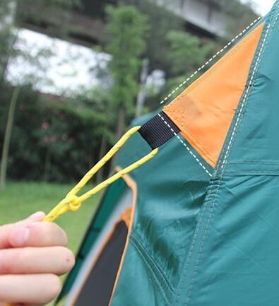 テント UVカット防水 簡単3秒設営 通気性 防虫  通気性抜群 8人以上の家族用 防災登山ピクニック旅行アウトドアキャンプ zp190503_画像5