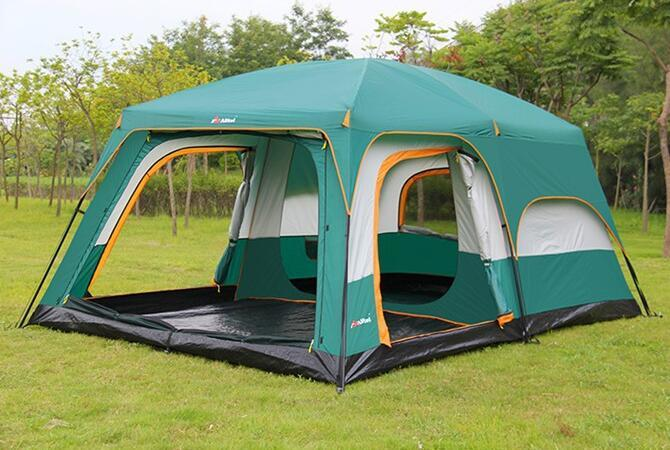 テント UVカット防水 簡単3秒設営 通気性 防虫  通気性抜群 8人以上の家族用 防災登山ピクニック旅行アウトドアキャンプ zp190503
