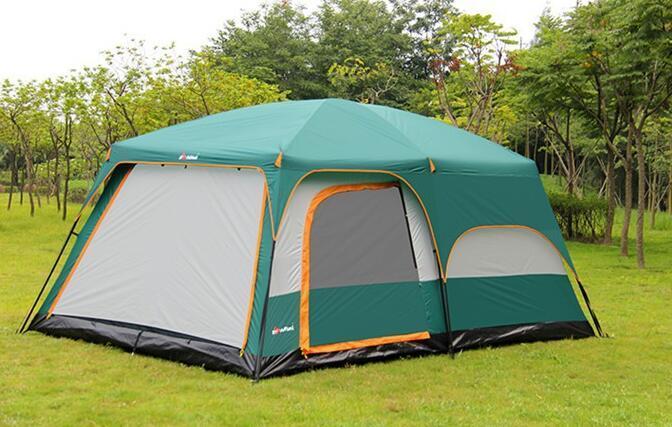 テント UVカット防水 簡単3秒設営 通気性 防虫  通気性抜群 8人以上の家族用 防災登山ピクニック旅行アウトドアキャンプ zp190503_画像3