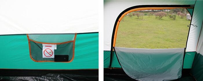 テント UVカット防水 簡単3秒設営 通気性 防虫  通気性抜群 8人以上の家族用 防災登山ピクニック旅行アウトドアキャンプ zp190503_画像6