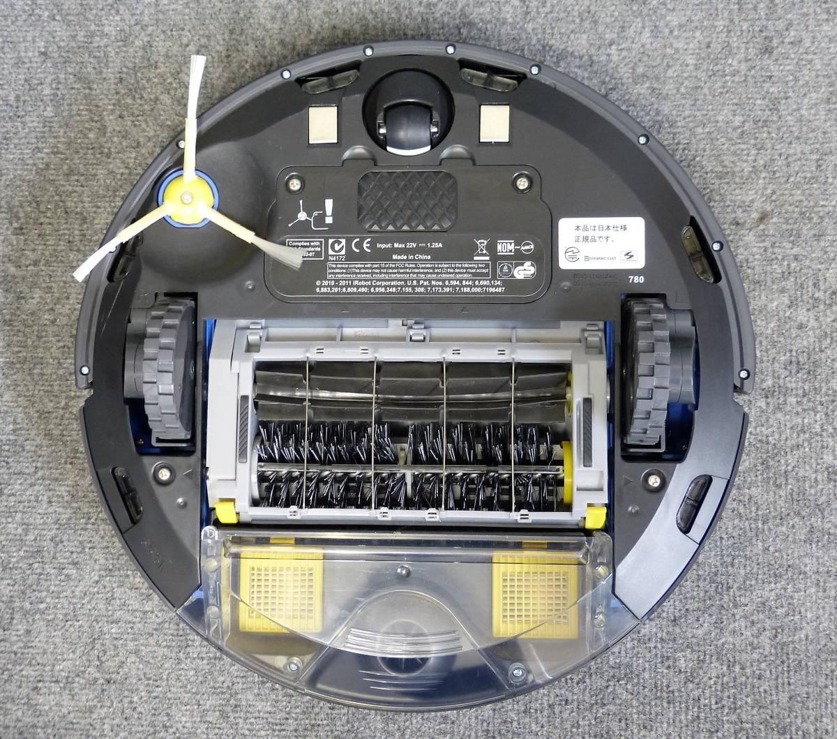 良品◎アイロボット☆自動掃除機ルンバ780 日本正規品 2012年製☆_画像3