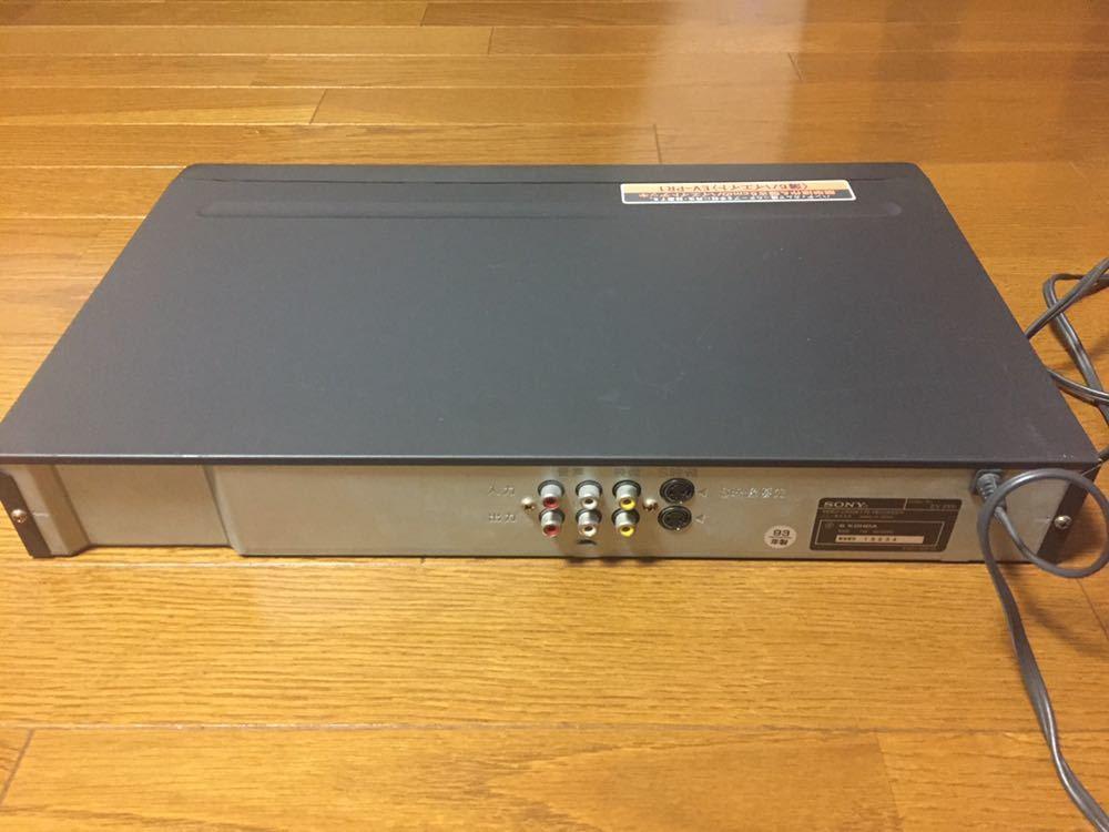 SONY ソニー EV-PR1 ビデオデッキ 日本製 93年製 本体のみ ジャンク_画像3