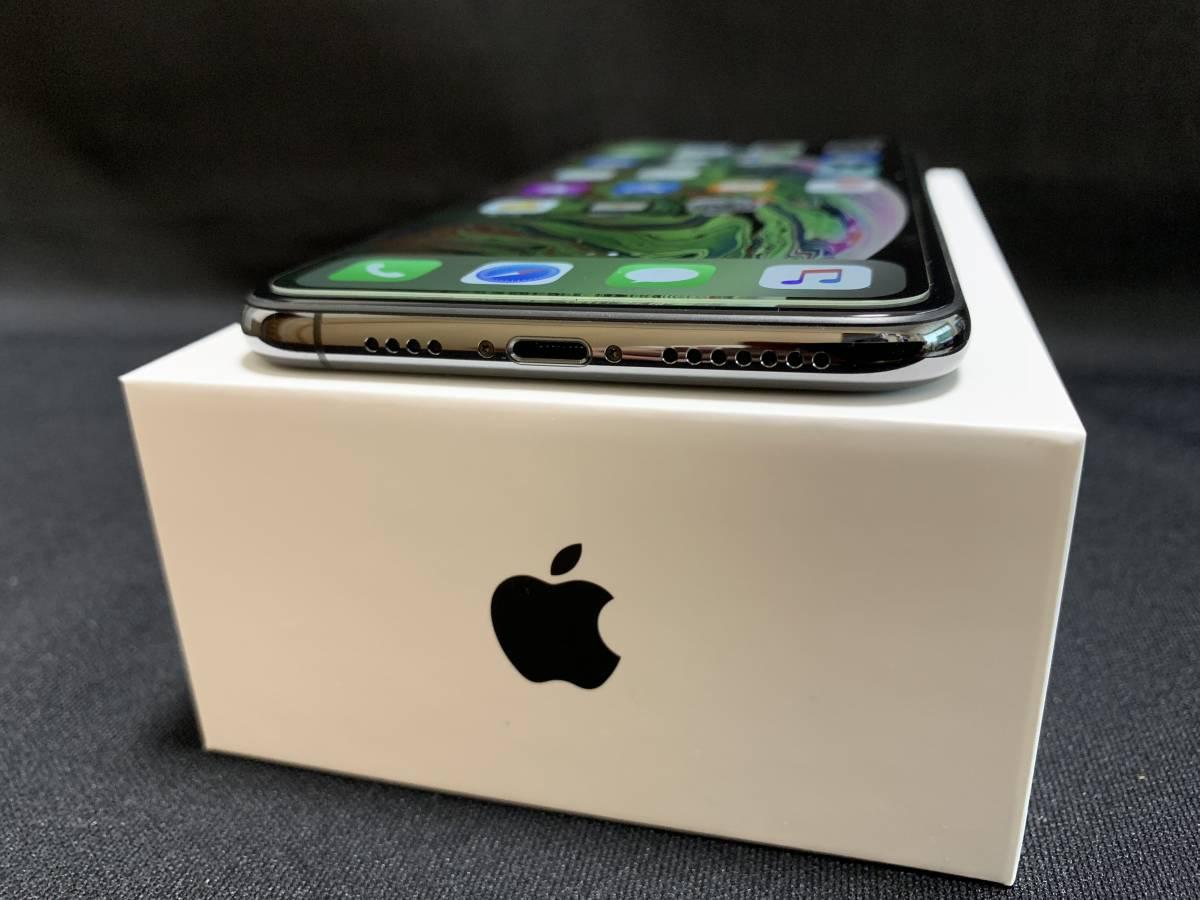 ◇極美品 Apple iPhone XS Max 256GB スペースグレイ SIMロック解除済み 判定〇 BATT100% おまけ付き◇_画像4