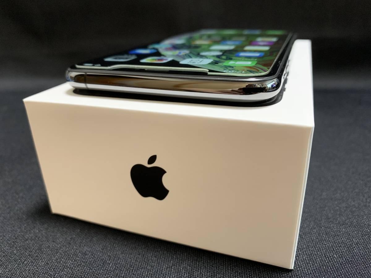 ◇極美品 Apple iPhone XS Max 256GB スペースグレイ SIMロック解除済み 判定〇 BATT100% おまけ付き◇_画像6