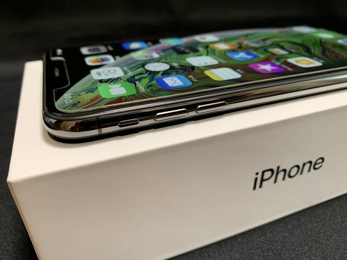 ◇極美品 Apple iPhone XS Max 256GB スペースグレイ SIMロック解除済み 判定〇 BATT100% おまけ付き◇_画像7
