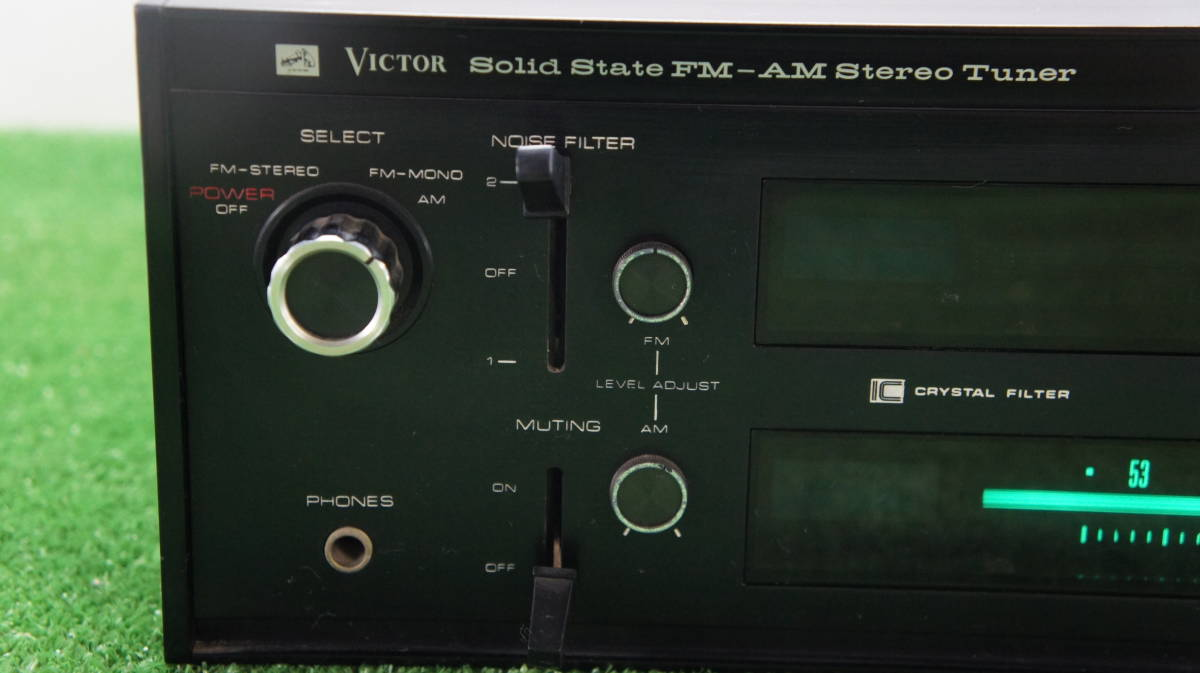 希少victor/ビクター FM/AMチューナー MODEL:MCT-105_画像3