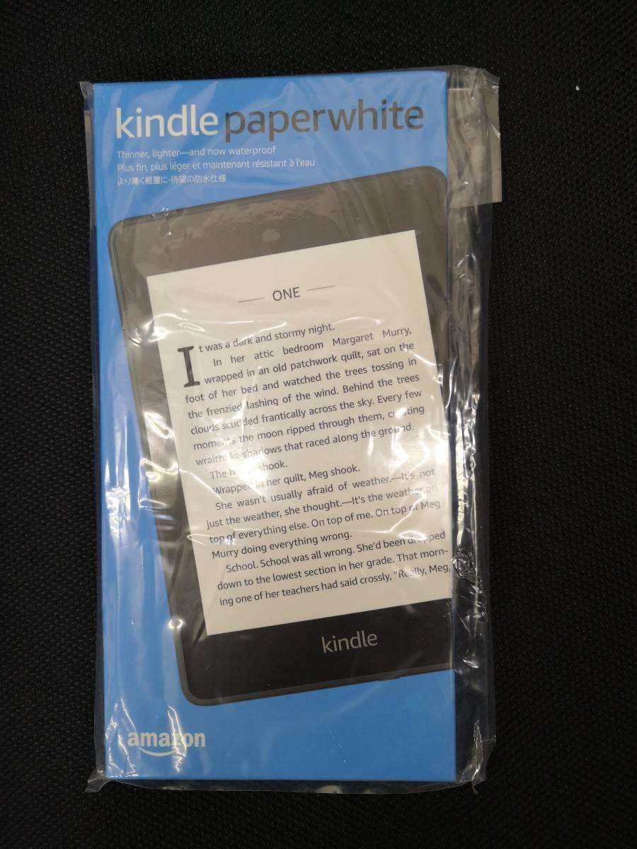 【新品未使用】Kindle Paperwhite 電子書籍リーダー 防水機能搭載 Wi-Fi 32GB 広告つき
