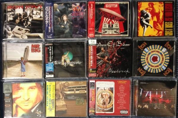 同梱不可☆1円~ 店頭販売品 中古 新品あり 洋楽 ハードロック メタル CD いろいろ まとめて 大量 120枚 セット まとめ売り _画像2
