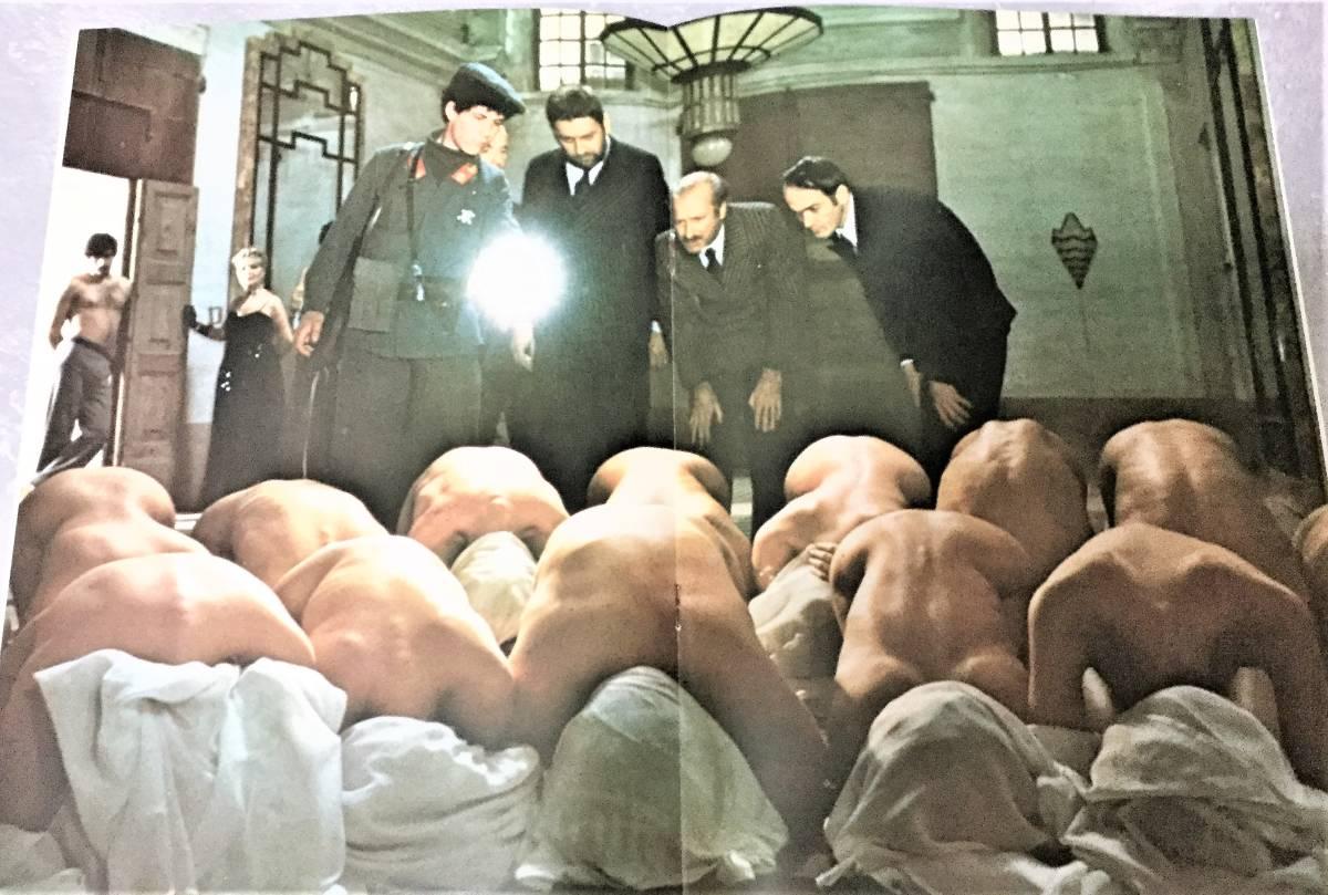 映画パンフ**660【ソドムの市】イタリア映画 美品_画像4