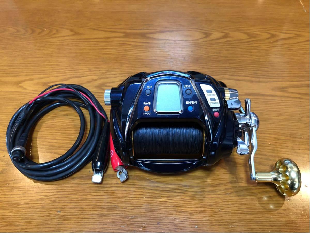 Daiwa シーボーグ 1000 MT 電動リール SEABORG メガツイン 検索) 深海釣り Beast Master 9000 6000 金目鯛 アカムツ マグロ 泳がせ